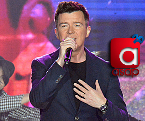 PHOTOS: Rickrolling with 80s music superstar Rick Astley