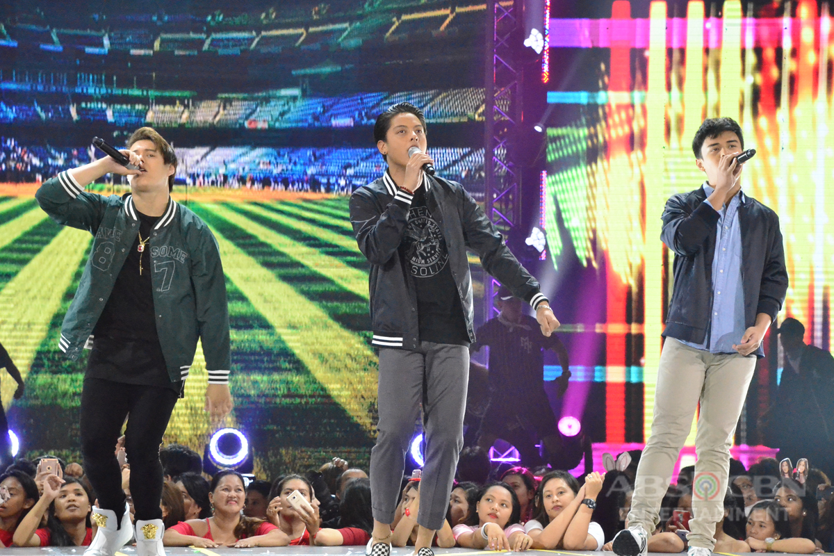 PHOTOS: Certified kilig-filled prod number with Star Magic all-male groups