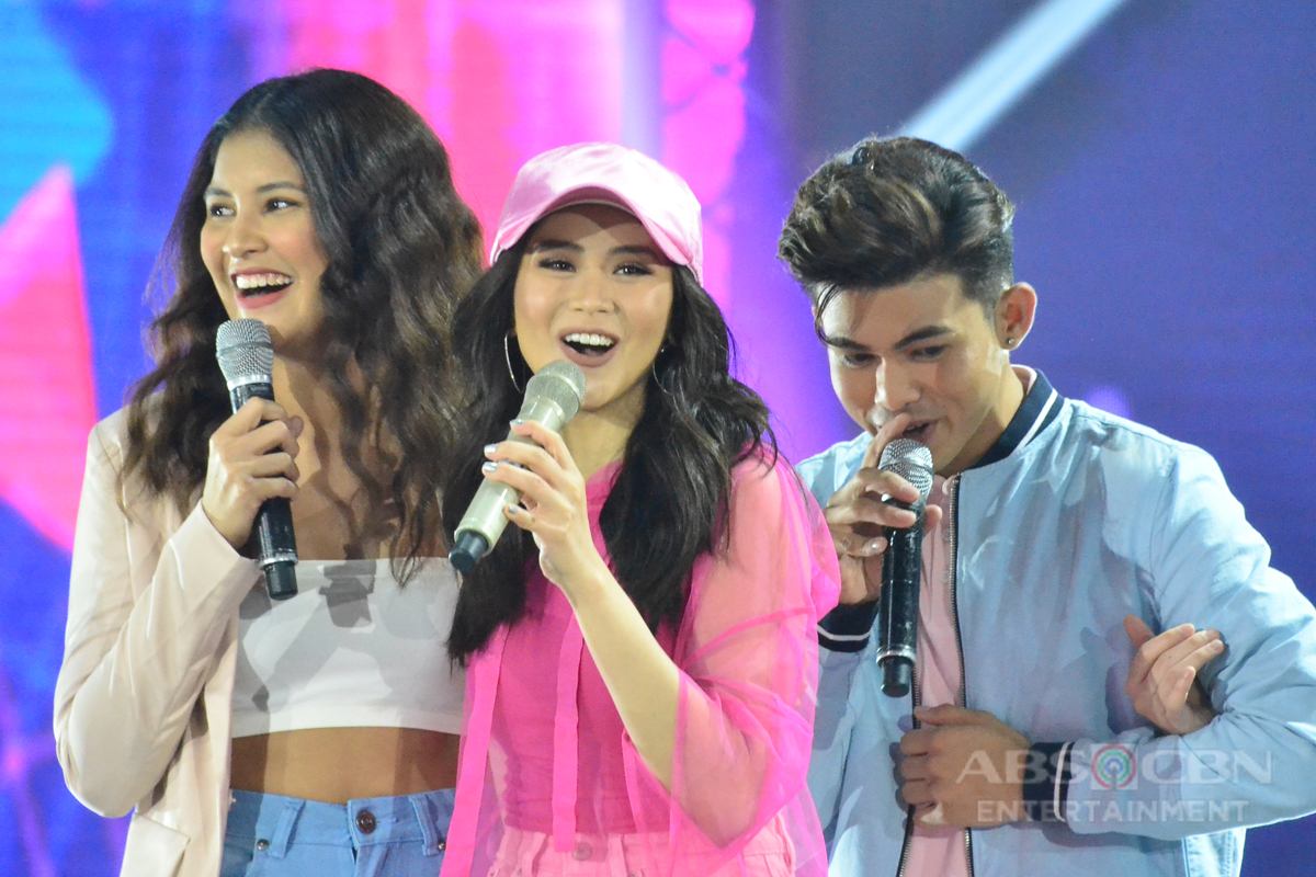 PHOTOS: Popstar Royalty Sarah G with today's next generation stars