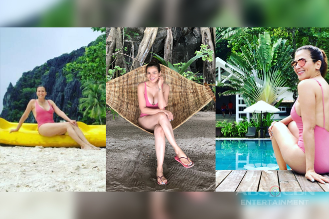 LAST HURRAH! Zsa Zsa Padilla enjoying summer before the season ends