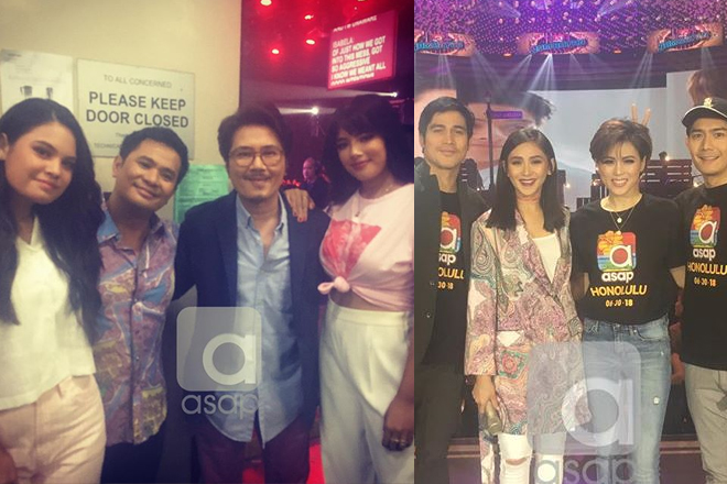 Backstage Photos: Father's Day celebration on #ASAPDADsWhatILike