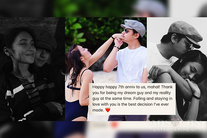 7 years and counting: Just insanely sweet photos of Daniel & Kathryn!