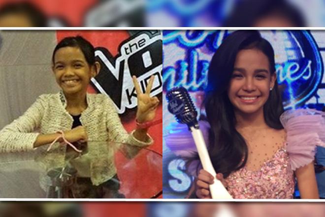 Mga litrato ni Zephanie Dimaranan bago siya manalo sa Idol Philippines