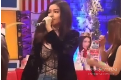 Liza Soberano channels her inner rapper