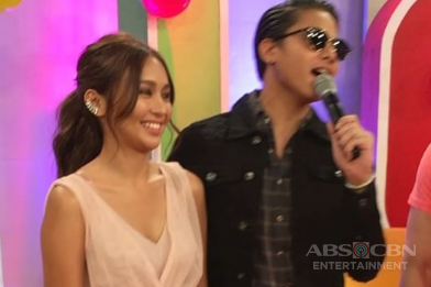 LOOK: Kathryn receives flowers from Daniel on her Birthday celeb on ASAP