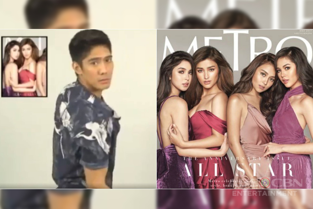 WATCH: Robi Domingo does the Metro Mag Challenge