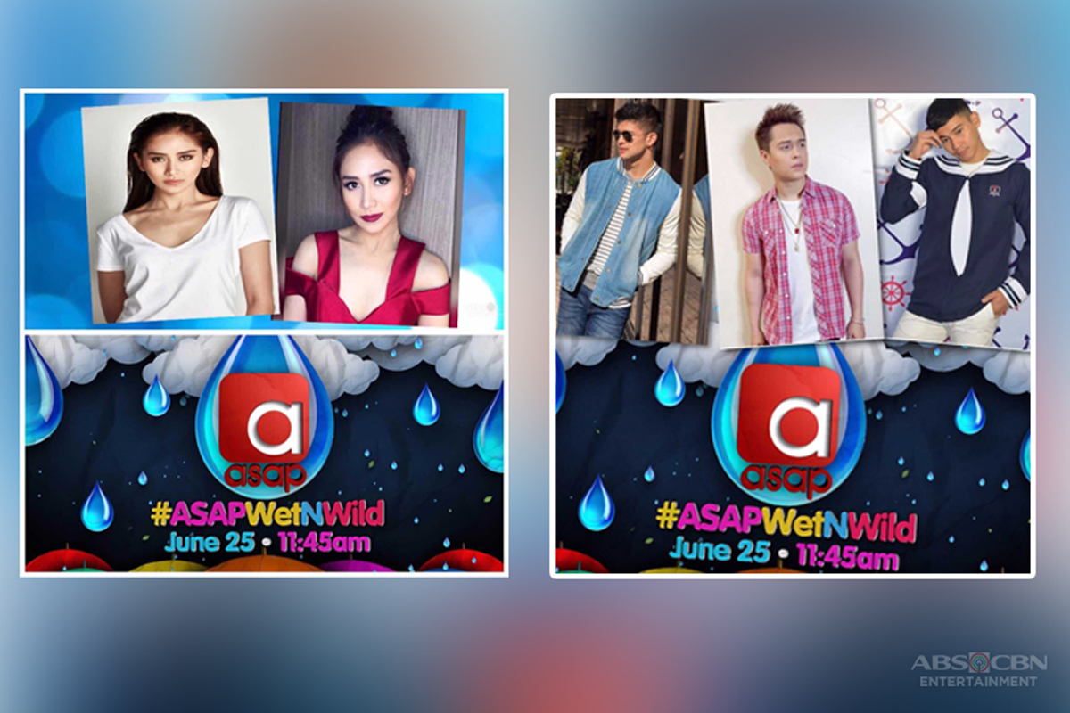 """Sarah and Enrique lead wet and wild """"ASAP"""" this Sunday"""