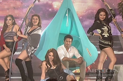 Camp Sawi stars Arci, Yassi, Andi, Bela,  Kim and Sam set the ASAP stage on fire in their  sexy performance