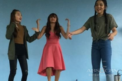 WATCH: Andrea, Kyline & AC do the #ChillDanceChallenge