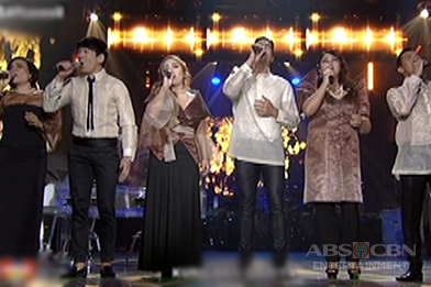 ASAPinoy celebrates hearts with a 'senti' performance of Piolo with The Company