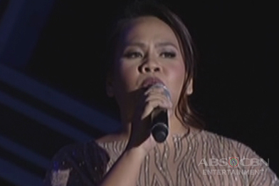 Bituin Escalante performs her hit song