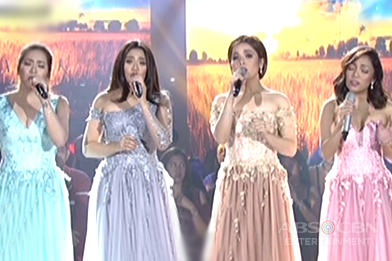 Angeline, Klarisse, Jona and Morissette in a jaw-dropping vocal showdown on ASAP Birit Queens