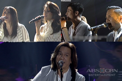 Piolo and Toni together with Joey Generoso, Jinky Vidal & Medwin Marfil perform their hit songs on ASAP
