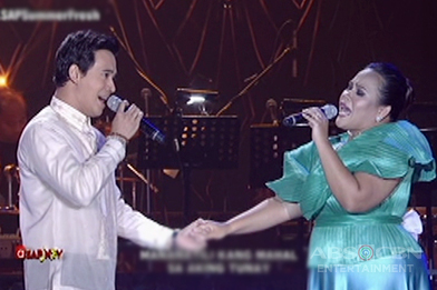"""Erik and Bituin sing """"Saan Darating Ang Umaga"""""""