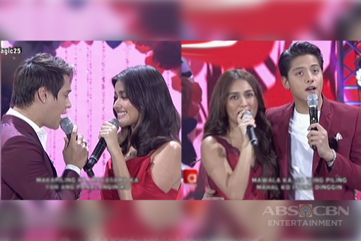 LizQuen and KathNiel are just pure love in this sweet number