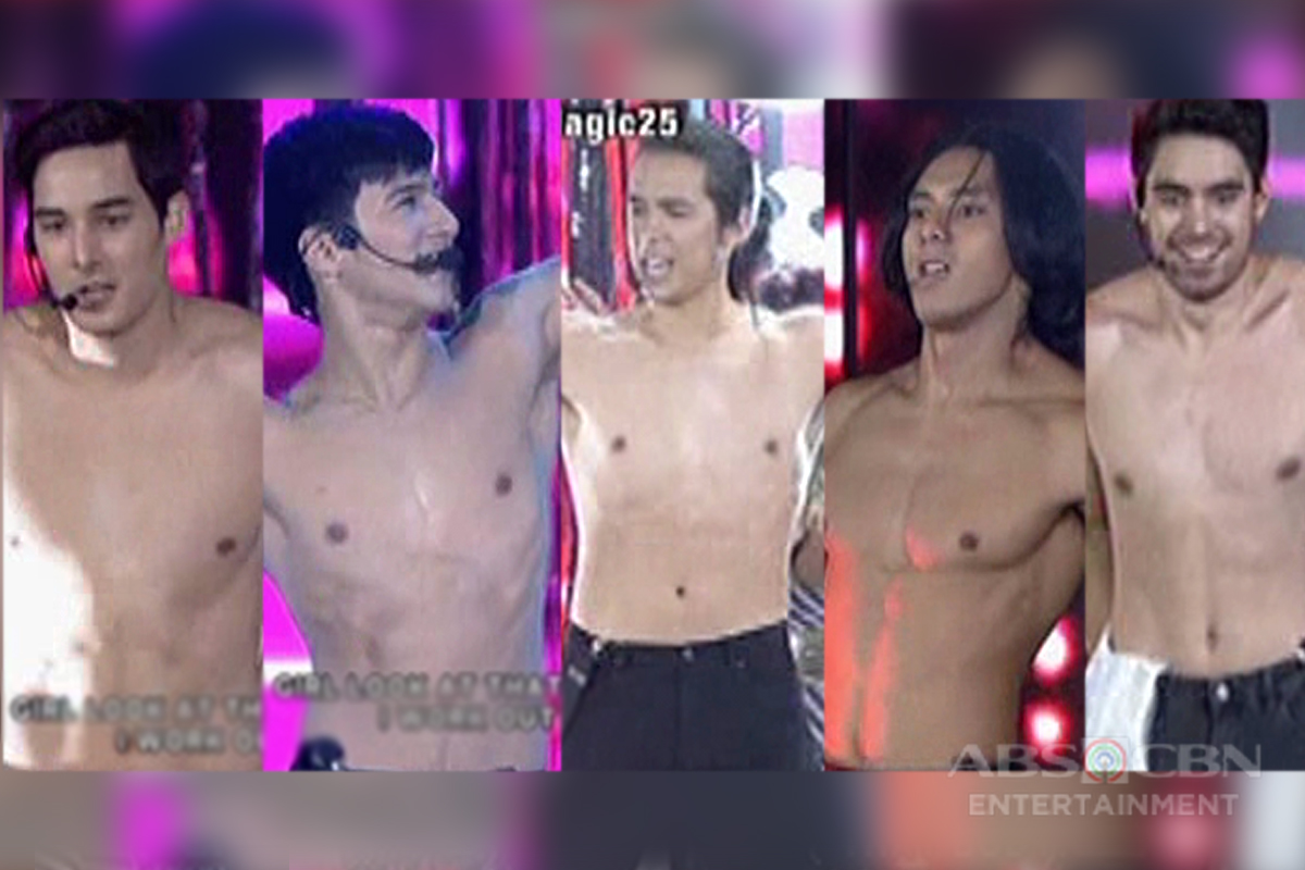 ASAP Coverboys go topless on their Star Magic 25 dance number
