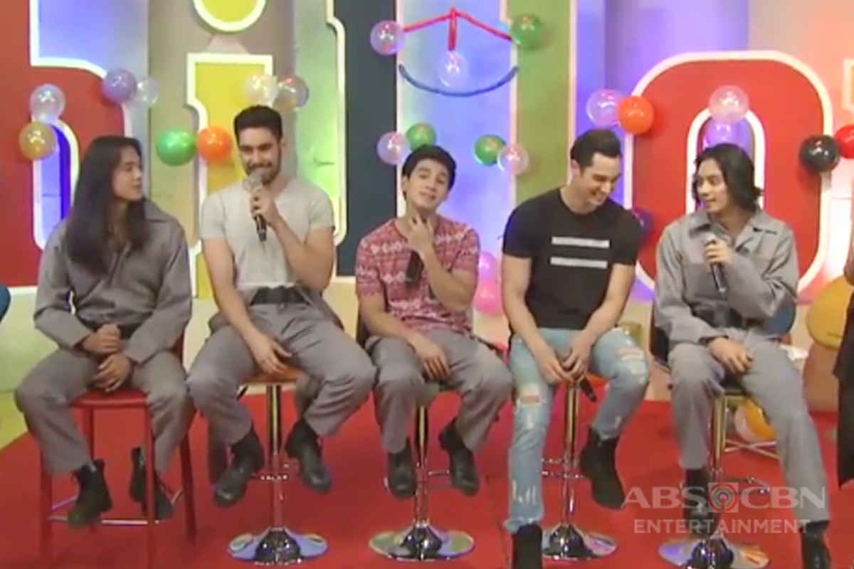 Luis, Albie, Tommy, Clint and Tanner, share their fitspiration