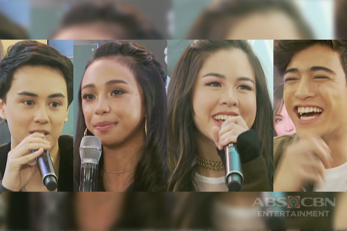 WATCH: Maymay, Edward, Kisses and Marco share why they are proud to be part of Star Magic