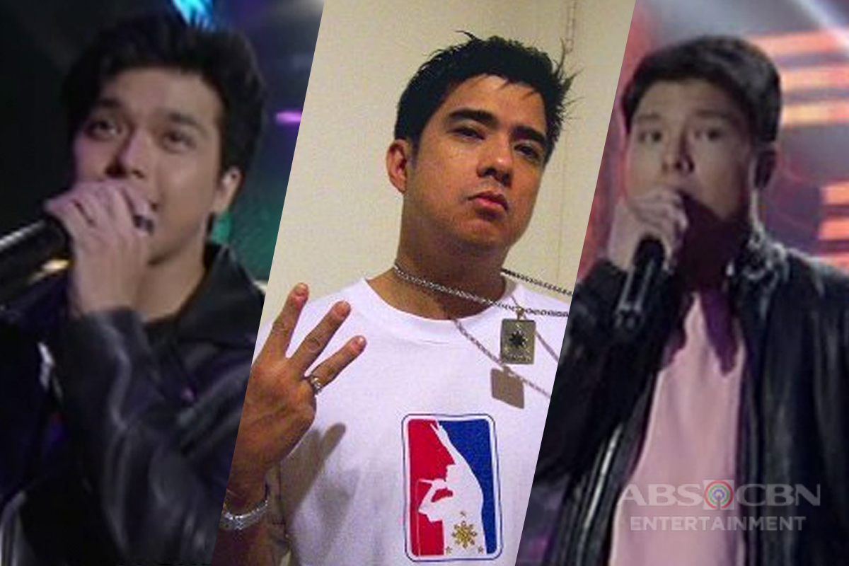 Francis Magalona's sons Elmo and Arkin perform