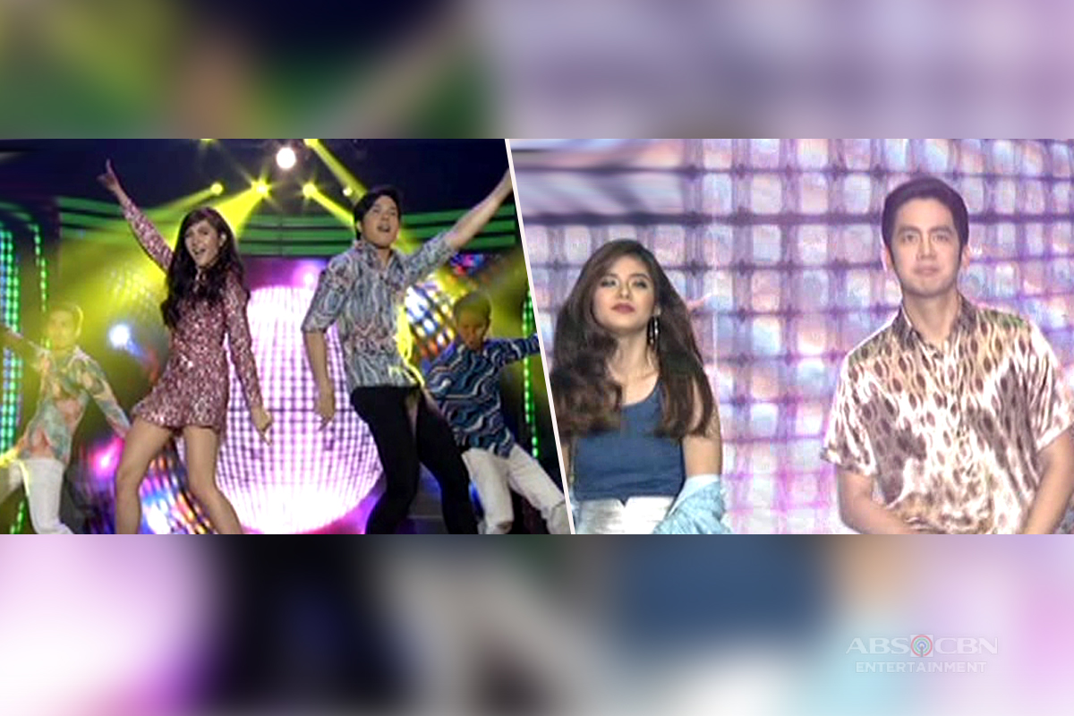 WATCH: This generation's hottest love teams will give you instant disco fever