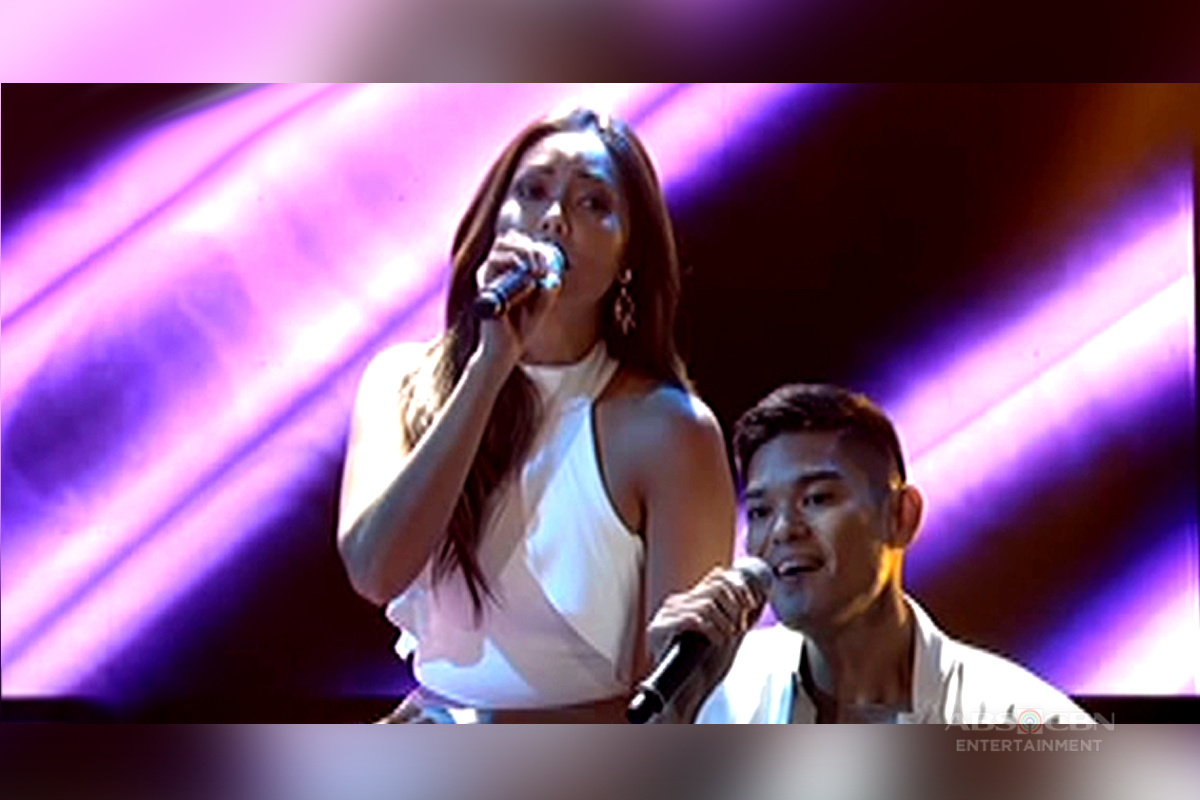 Real-life couple Jay-R and Mica serenade audience on ASAP LSS