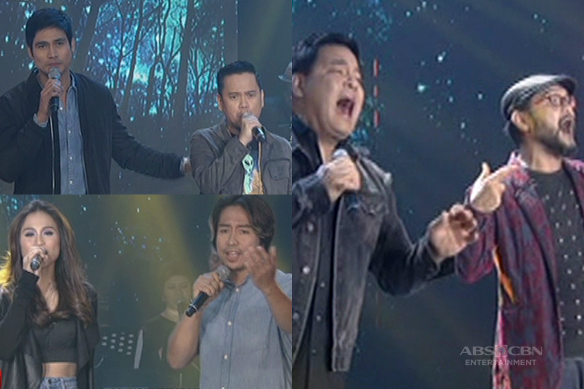 Martin, Piolo and Toni's 90s jamming with hitmakers Medwin Marfil, Paco Arespacochaga and Wency Cornejo