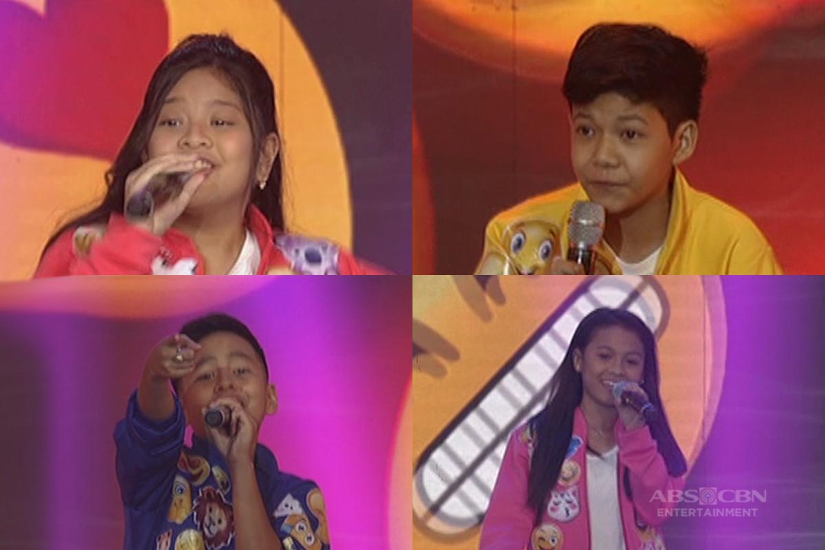 Your Face Sounds Familiar Kids Lyca, Elha, Justin and Sam reunite on ASAP!