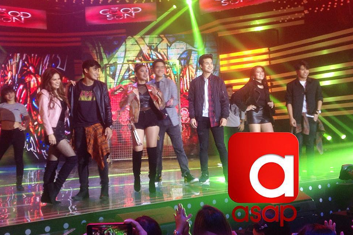 The Good Son' stars show off their electrifying moves on ASAP