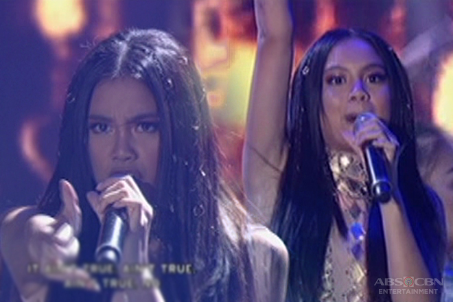Ylona Garcia performs her newest single on ASAP!