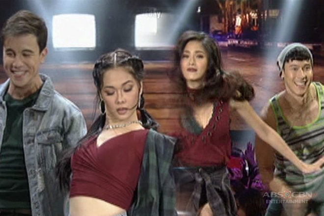 Maja-Arjo and Kim-Enchong battle it out in one hot dance off!