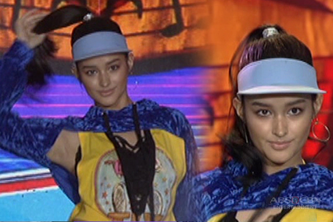 The newest dance craze is here! Maki-ponytail dance na with Liza Soberano sa #ASAPjustLOVEday