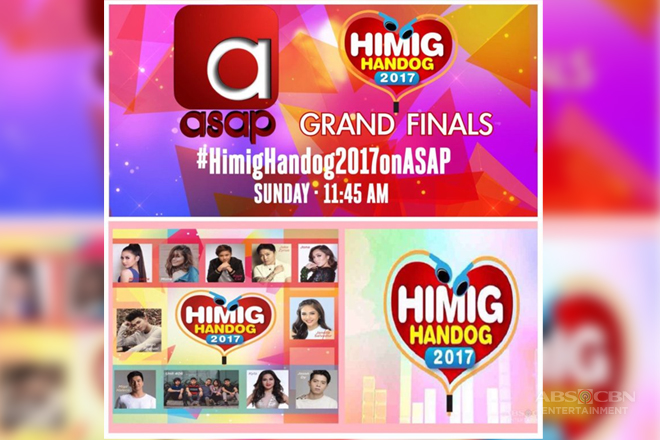 Himig Handog 2017 finals on ASAP this Sunday
