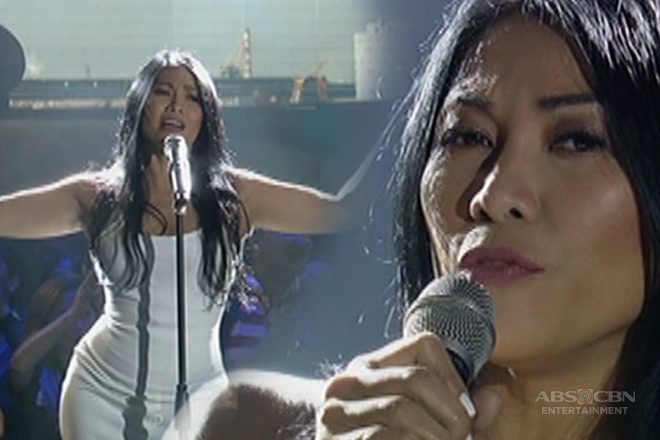 Indonesian superstar and AGT judge Anggun performs on the ASAP stage!