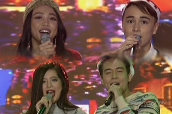 Kapamilya teens Maymay, Edward, Sue and Jameson bring a different kind of Christmas kilig on ASAP