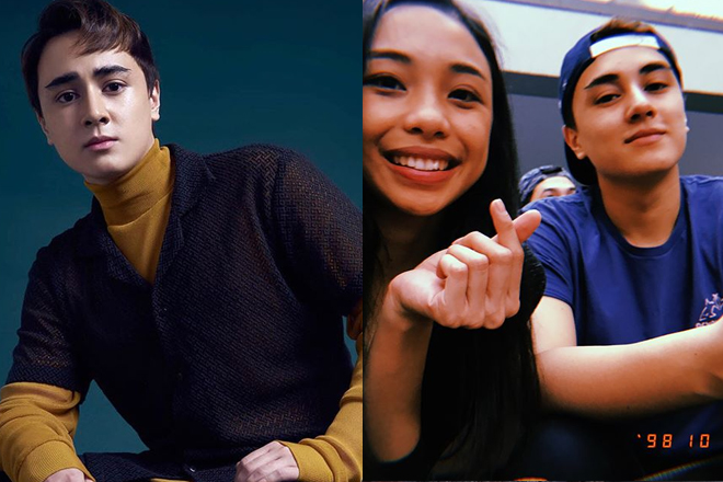 Did Edward admit that Maymay is his girlfriend?