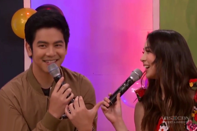 WATCH: JoshLia takes on the Who's Who game!