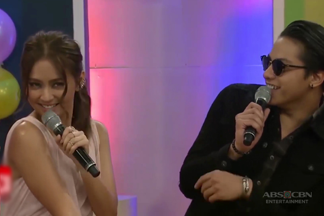 MUST-WATCH: Kathryn and Daniel reenact a scene from their movie