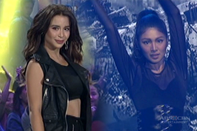 BFFs Nadine and Yassi's back-to-back dance off shows us the right way to heat up the stage!