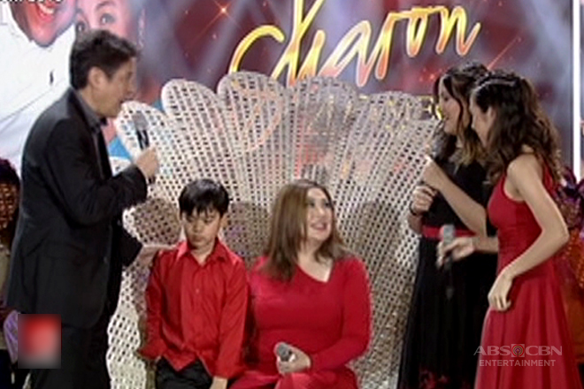 Sharon Cuneta's family surprise her on 40th showbiz anniversary