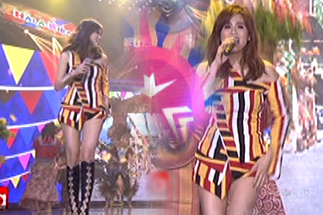 Toni Gonzaga shows off sexy side on ASAP's opening!