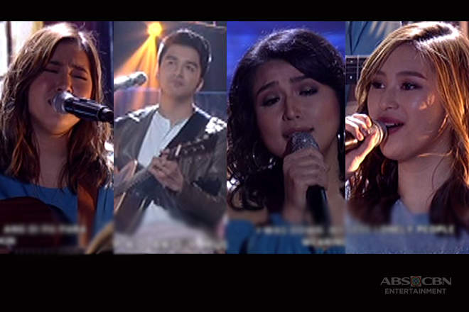 Moira, Migz, Isabel and Zia sing the top Hugot songs of 2017 on ASAP Jambayan