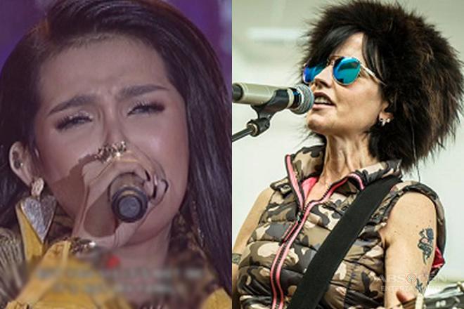 KZ Tandingan pays tribute to The Cranberries' lead singer Dolores O'Riordan
