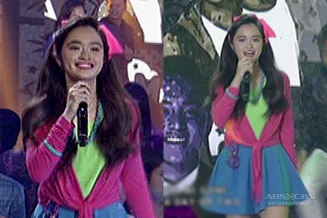 Sunshine Cruz' daughter Angelina shows off her singing talent on ASAP!