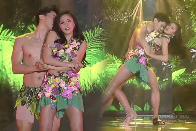WATCH: Kim and Enchong's wild dance number on ASAP