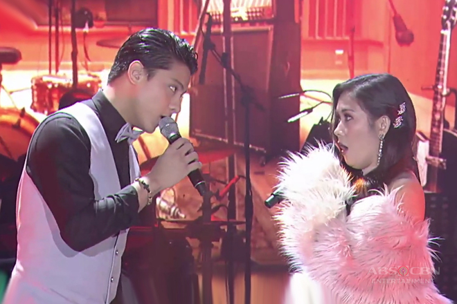 Daniel Padilla & Yeng Constantino relive the classic hit song of Frank Sinatra on ASAP RePlay