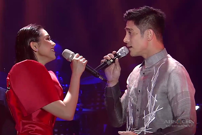 Sarah and Piolo's duet of True Faith's 'Muntik Nang Maabot Ang Langit'