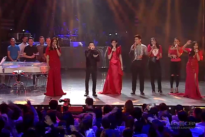 True Faith performs 'Dahil Ikaw' on ASAPinoy