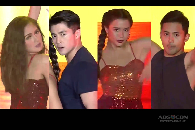Kim, Yassi, Arron and Enzo shake off bad luck with their supah hatawan on ASAP