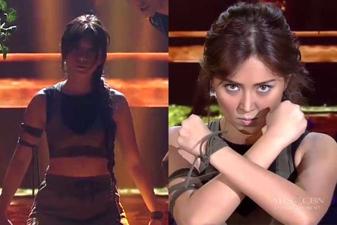 Kathryn Bernardo unleashes her inner Tomb Raider and it's a performance that you must see!