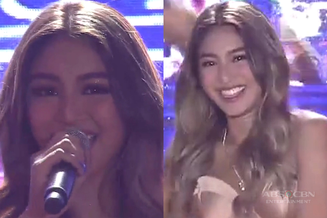 Nadine Lustre performs her newest single